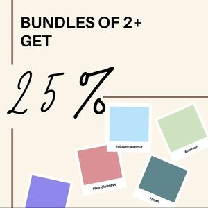 Save on bundles!